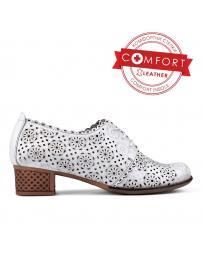 Бели дамски ежедневни обувки 0131059