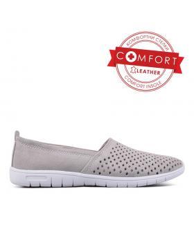 Дамски ежедневни обувки сиви 0129515 в online магазин Fashionzona