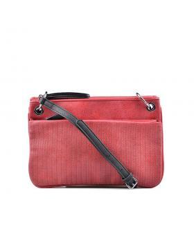 Червена дамска ежедневна чанта 0130436 в online магазин Fashionzona