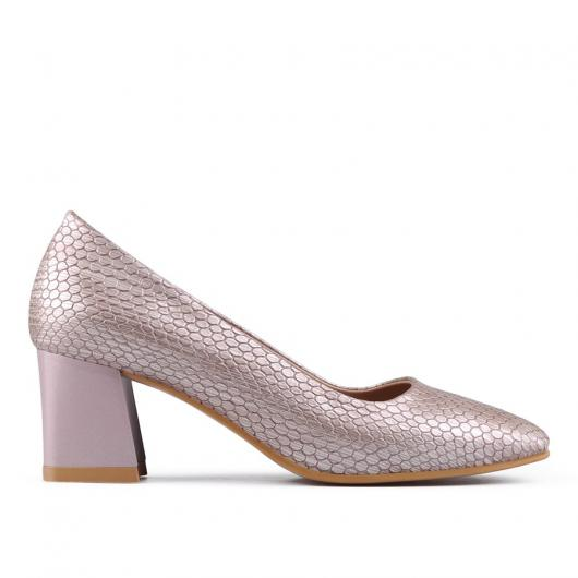 Бежови дамски ежедневни обувки Jazzy