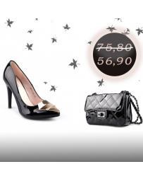 2в1 Дамски елегантни обувки с чанта Mahek в online магазин Fashionzona