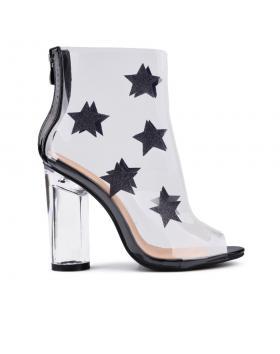 Дамски летни боти черни 0130562 в online магазин Fashionzona