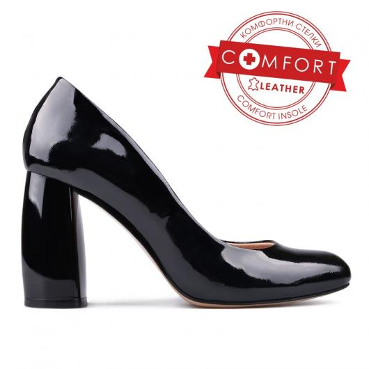 Черни дамски елегантни обувки Amberly