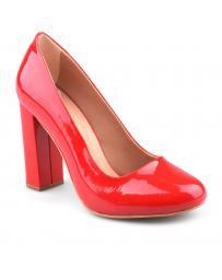 дамски елегантни обувки червени 0126028