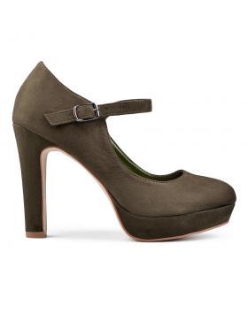 Зелени дамски елегантни обувки Addie в online магазин Fashionzona