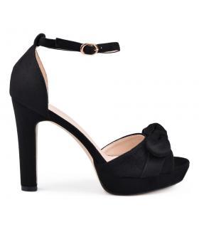 Дамски елегантни сандали черни 0130556 в online магазин Fashionzona