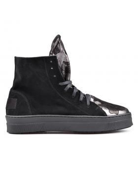 Черни дамски кецове 0131291 в online магазин Fashionzona