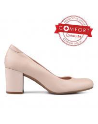 Бежови дамски елегантни обувки Riley