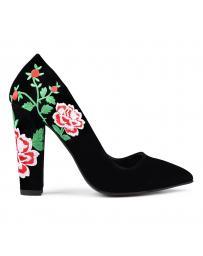 Черни дамски елегантни обувки 0131163