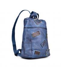 Синя дамска раница Soulle в online магазин Fashionzona