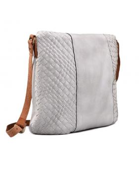Бяла дамска ежедневна чанта 0130438 в online магазин Fashionzona