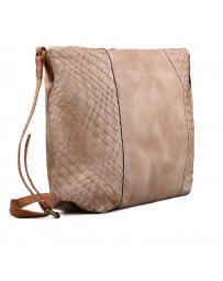 Бежова дамска ежедневна чанта Freira