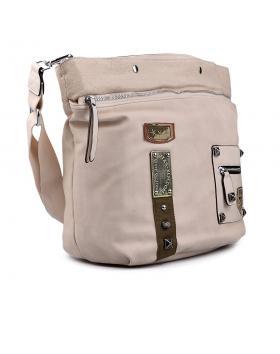Дамска ежедневна чанта бежова 0130487 в online магазин Fashionzona