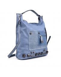 Синя дамска ежедневна чанта 0130502