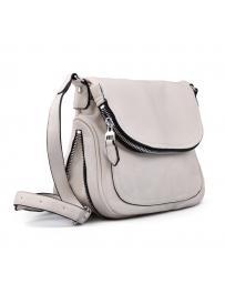 Бяла дамска ежедневна чанта 0130520
