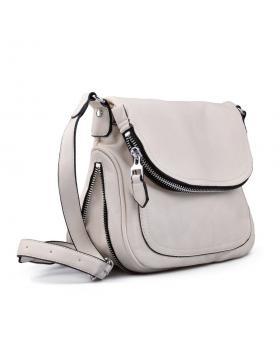 Бяла дамска ежедневна чанта 0130520 в online магазин Fashionzona