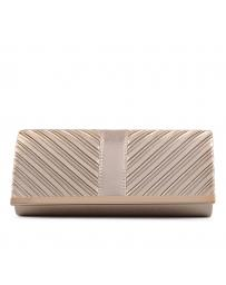 Златиста дамска елегантна чанта 0130410