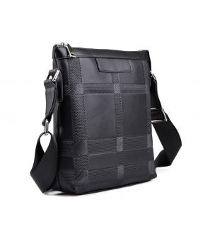 Черна мъжка ежедневна чанта Ivan в online магазин Fashionzona