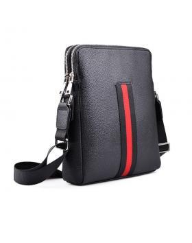 Черна мъжка ежедневна чанта 0130638 в online магазин Fashionzona