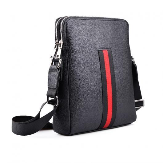 Черна мъжка ежедневна чанта Jacinto