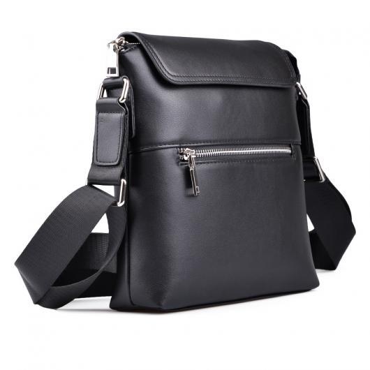 Черна мъжка ежедневна чанта Sabino