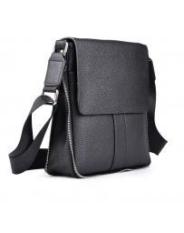 Черна мъжка ежедневна чанта Alanzo в online магазин Fashionzona