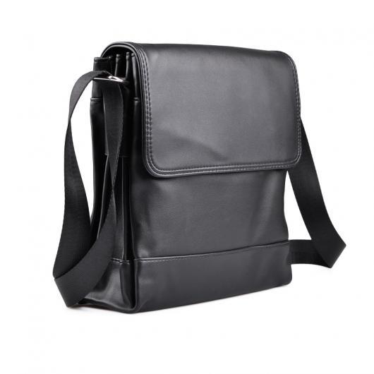 Черна мъжка ежедневна чанта Alcadio