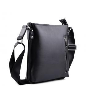 Черна мъжка ежедневна чанта 0130652 в online магазин Fashionzona
