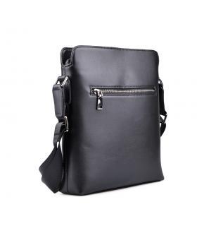 Черна мъжка ежедневна чанта Guillermo в online магазин Fashionzona