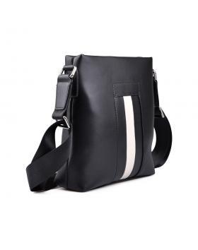 Черна мъжка ежедневна чанта 0130642 в online магазин Fashionzona