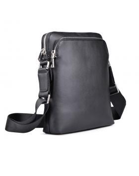 Черна мъжка ежедневна чанта 0130639 в online магазин Fashionzona
