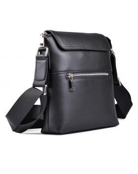 Черна мъжка ежедневна чанта 0130640 в online магазин Fashionzona