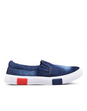 Дамски ежедневни обувки сини 0129116 в online магазин Fashionzona