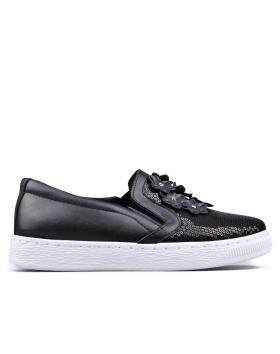 Дамски кецове черни 0130363 в online магазин Fashionzona