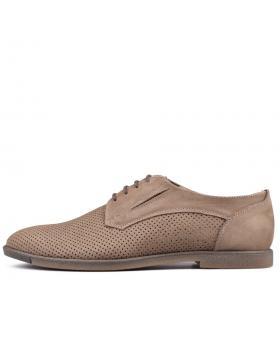 Бежови мъжки ежедневни обувки Abun в online магазин Fashionzona