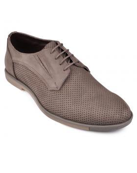 Кафяви мъжки ежедневни обувки Calvin в online магазин Fashionzona