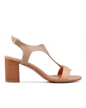 Дамски ежедневни сандали бежови 0129769 в online магазин Fashionzona