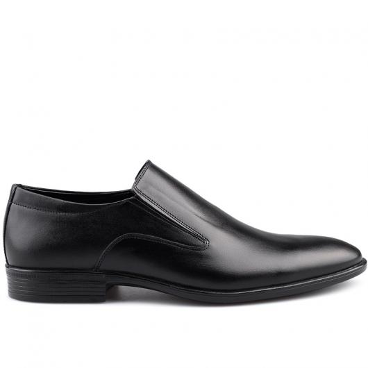 Черни мъжки елегантни обувки Ximenez