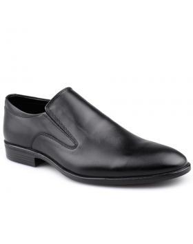 Черни мъжки елегантни обувки 0125909 в online магазин Fashionzona