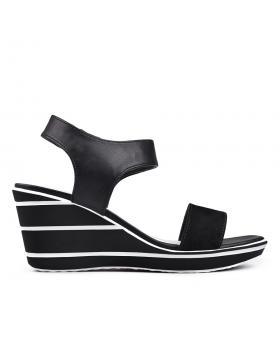 Дамски ежедневни сандали черни 0130125 в online магазин Fashionzona