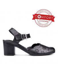 Дамски ежедневни сандали черни 0131069