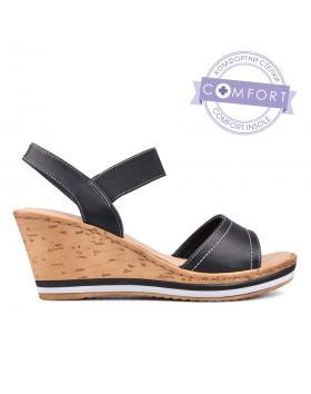 Дамски ежедневни сандали черни 0129874 в online магазин Fashionzona