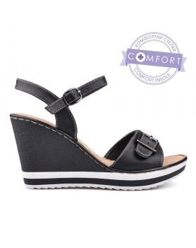 Дамски ежедневни сандали черни 0129856 в online магазин Fashionzona