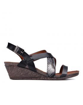 Дамски ежедневни сандали черни 0129808 в online магазин Fashionzona