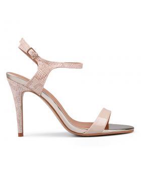 Дамски елегантни сандали бежови 0130277 в online магазин Fashionzona