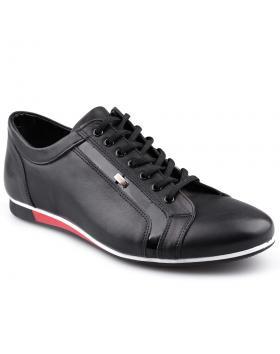 Черни мъжки ежедневни обувки 0125930 в online магазин Fashionzona