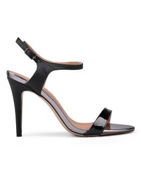 Дамски елегантни сандали черни 0130276 в online магазин Fashionzona