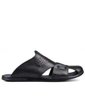 Черни мъжки чехли 0131365 в online магазин Fashionzona
