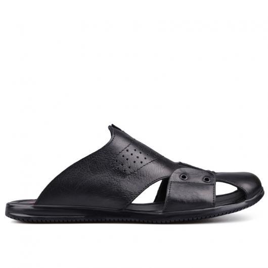 Черни мъжки чехли Maurice