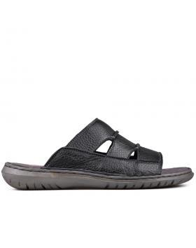 Черни мъжки чехли 0129309 в online магазин Fashionzona